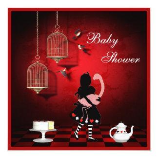 Pájaros de Alicia y del flamenco y fiesta de Anuncios