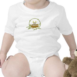 Pájaros de bebé camiseta