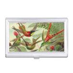 Pájaros de Haeckel del vintage Cajas De Tarjetas De Presentación