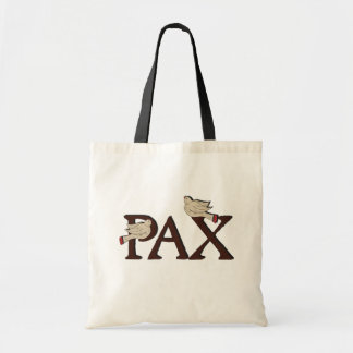 Pájaros de la bolsa de asas del Pax (paz)