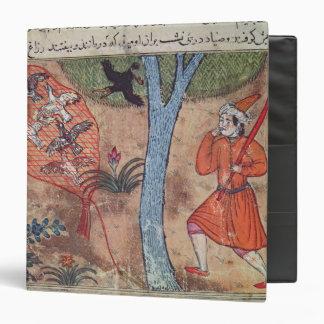 Pájaros de la caza, 'del libro de Kalila y