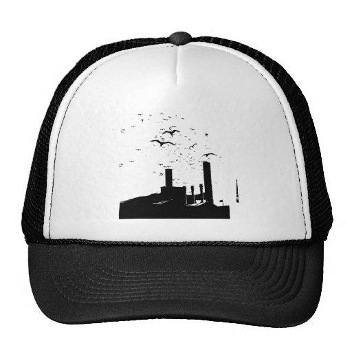 Pájaros de la fábrica gorra