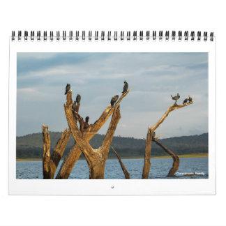 Pájaros de la India meridional Calendario