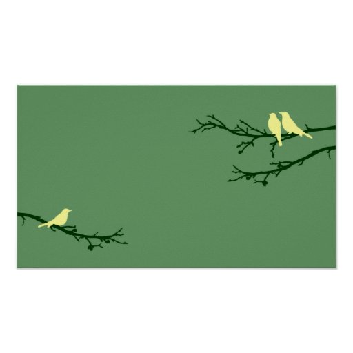 pájaros de la MOD Impresiones