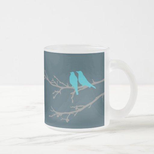 pájaros de la MOD Taza De Café