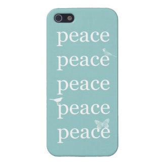 Pájaros de la paz iPhone 5 cobertura