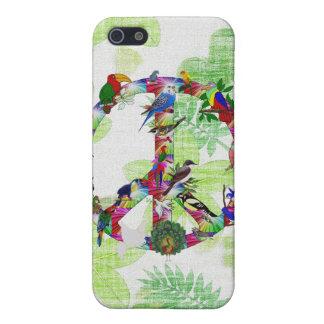 Pájaros de la paz iPhone 5 fundas