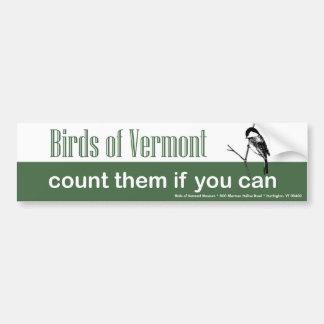 Pájaros de la pegatina para el parachoques del mus pegatina de parachoque