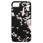 Pájaros de la pista iPhone 5 Case-Mate carcasas