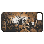 Pájaros de la silueta iPhone 5 Case-Mate cárcasas