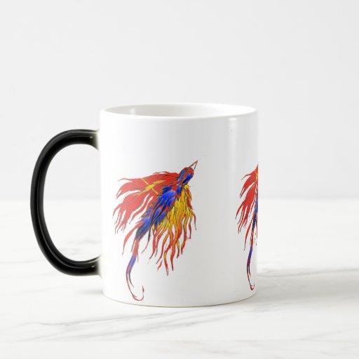 pájaros de la taza del cambio del coler del cambio