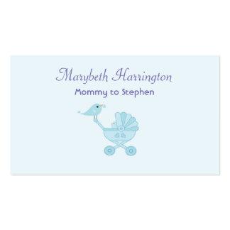 Pájaros de los azules cielos de la tarjeta de tarjetas de visita