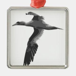 Pájaros de mar abstractos ornamentos de reyes