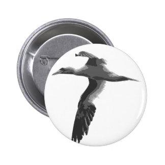Pájaros de mar abstractos pins