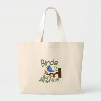 Pájaros de Norteamérica Bolsa Tela Grande