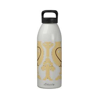 Pájaros de Paradiese Botella De Agua Reutilizable
