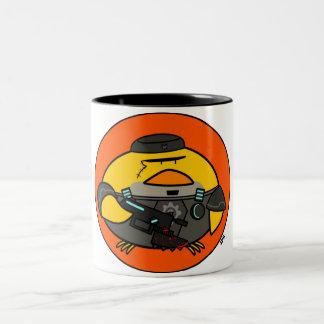 Pájaros de Poio de la guerra Tazas De Café