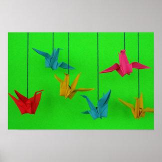 Pájaros de un color posters