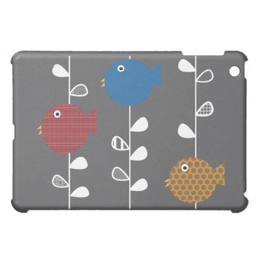 Pájaros de una hoja iPad mini cárcasas