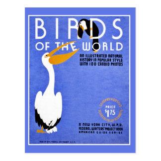 Pájaros de WPA de la publicidad del mundo Postal