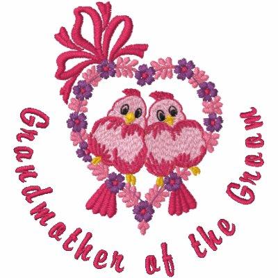 Pájaros del amor - abuela del novio