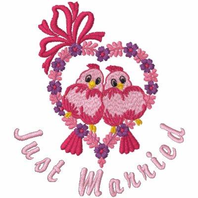 Pájaros del amor - apenas casados