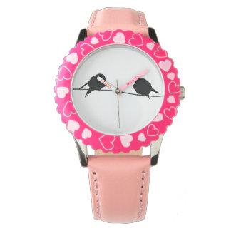 Pájaros del amor/cara del reloj