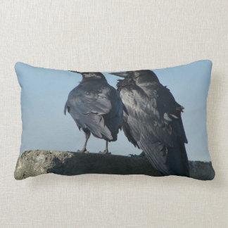 Pájaros del amor cojin
