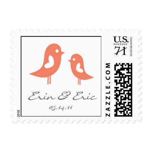 Pájaros del amor de Erin- Sello