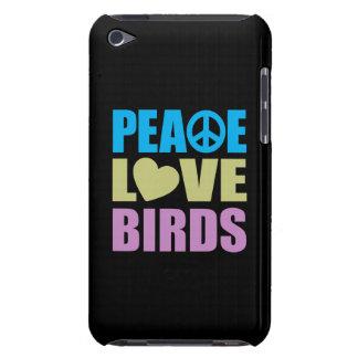 Pájaros del amor de la paz iPod touch Case-Mate protector