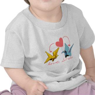 pájaros del amor camiseta