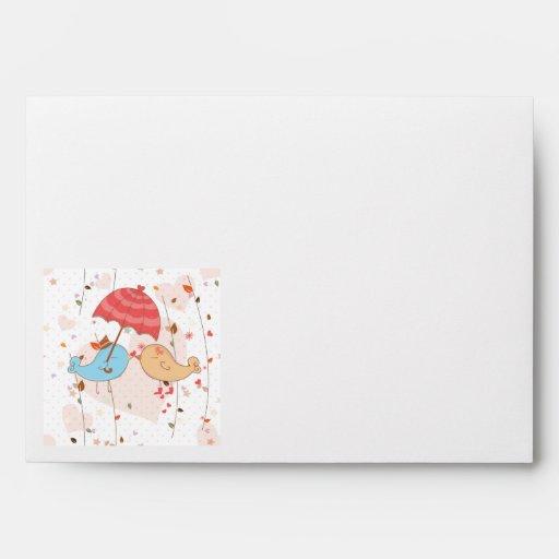 Pájaros del amor que casan a tarjetas del día de S