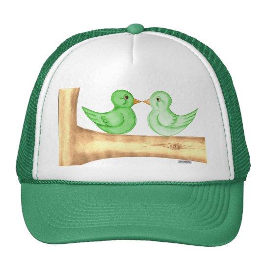 Pájaros del amor (verde) gorra