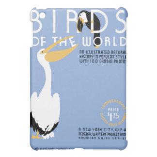 Pájaros del arte de WPA del vintage del mundo