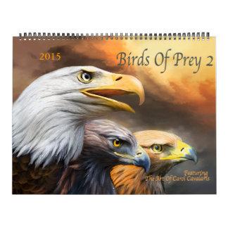Pájaros del calendario 2016 del arte de la presa 2