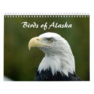 Pájaros del calendario de Alaska