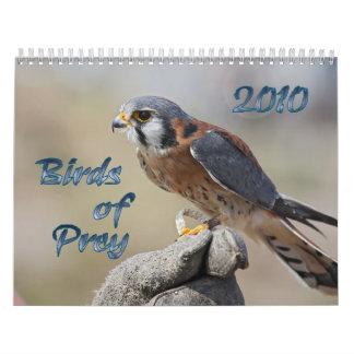Pájaros del calendario de la presa 2010