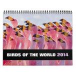 Pájaros del calendario del mundo 2014
