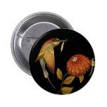 Pájaros del Chinoiserie I - botón Pin