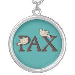 Pájaros del collar del Pax (paz)
