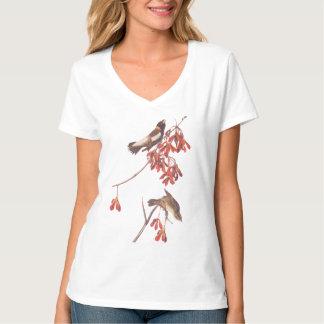 Pájaros del empavesado del arroz de Audubon o Remera
