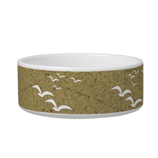 Pájaros del gres de la comida campestre de la comedero para mascota