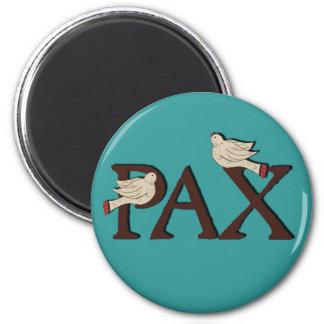 Pájaros del imán del Pax (paz)