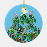 Pájaros del navidad en Australia Ornamentos De Reyes Magos