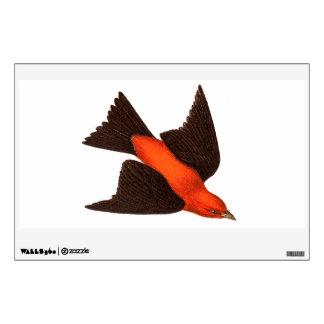 Pájaros del pájaro cantante del pájaro del Tanager Vinilo