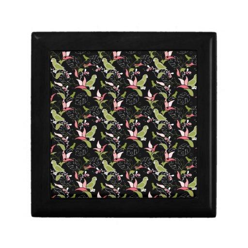 Pájaros del paraíso cajas de regalo