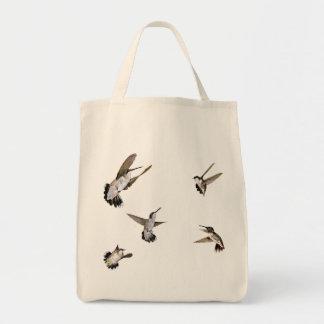 Pájaros del tarareo bolsa