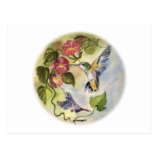 Pájaros del tarareo postales
