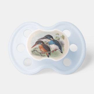 Pájaros del vintage chupetes de bebe