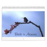 Pájaros en Arizona Calendarios